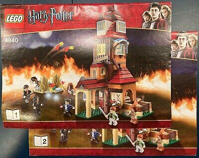 LEGO 4840 HARRY POTTER THE BURROW COMPLETE - ALL MINIFIGS, & MANUALS
