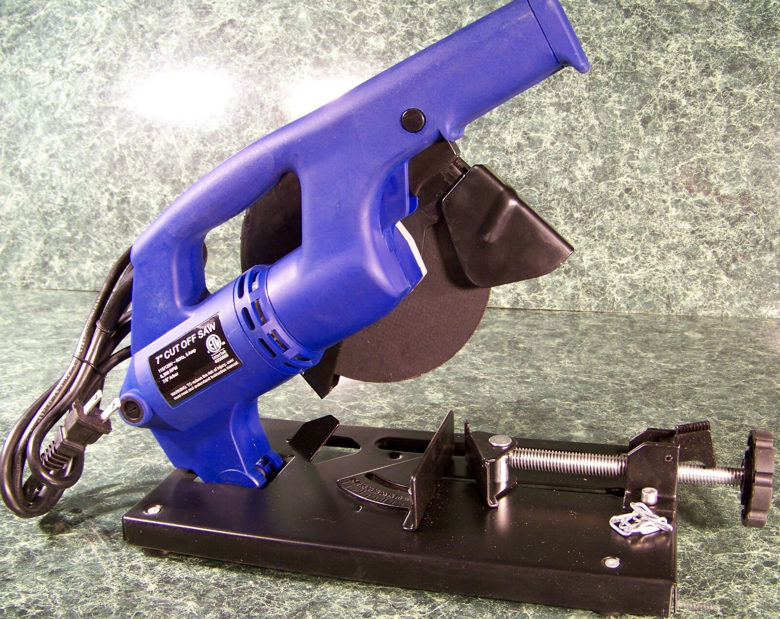 """7 """" Electric Mini Metal UL CUT OFF CHOP SAW New w/ 1 Blade a"""