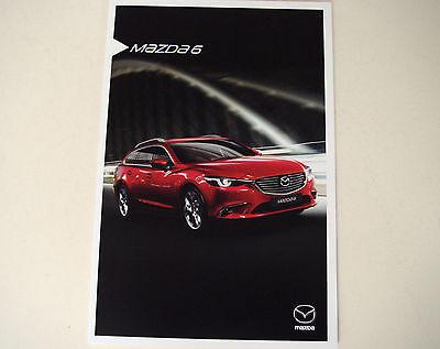 Mazda . 6 . Mazda 6 . December 2015 Sales Brochure