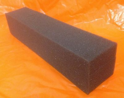 "30 -  BLACK FOAM PLANKS  10.5"" X 2"" X 2""   POLYETHYLENE FOAM BLOCKS - PADDING"