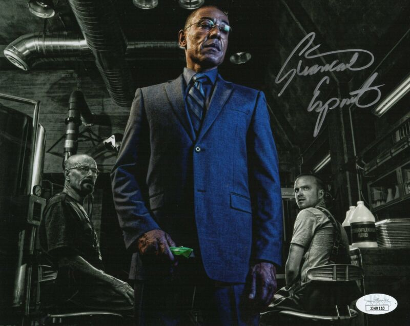 Giancarlo Esposito Autograph 8x10 Photo Breaking Bad Gus Fring JSA COA 2