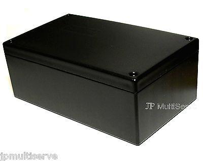 Project Box 6.25 x 3.75 x 2.4 inches Black Plastic Enclosure