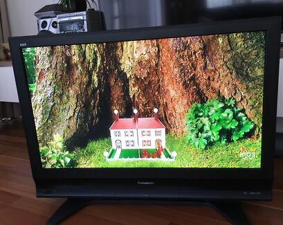 "Panasonic 42"" HD Flat Screen TV with Remote"