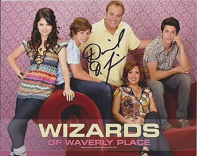 David DeLuise Wizards of Waverly Place 2 Original Autographed 8X10 Photo