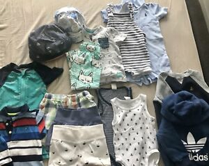 Brand names baby boy Lot 3-12 months