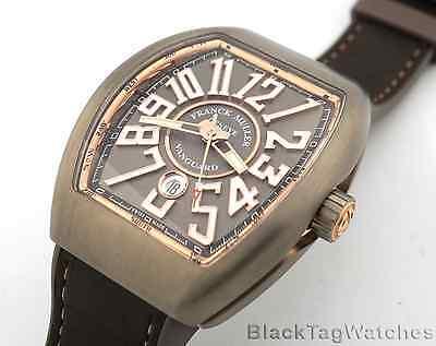 Franck Muller Vanguard  Titanium and 18k Rose Gold VV45 SC DT TT BR.5N
