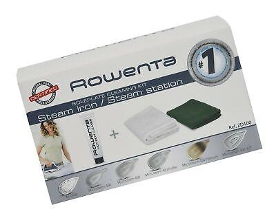 Rowenta Iron Soleplate Cleaner - Rowenta ZD100 Soleplate Cleaner Kit