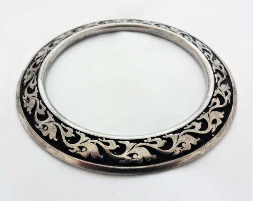 Jeremiah Watt Breast Collar Ring Martingale Stainless Steel Horse Tack Black New