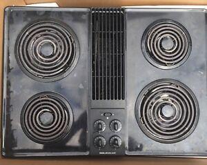 Jenn Air drop in stove / cooktop