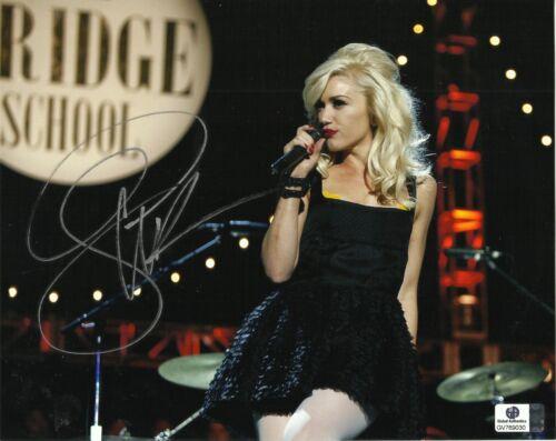 Gwen Stefani No Doubt Signed Autograph GA Authenticated 8x10 Photo