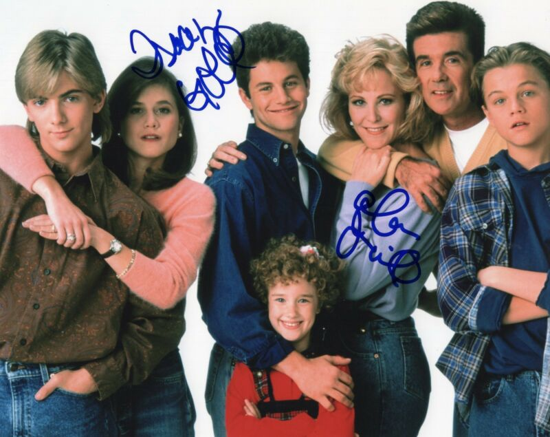 Alan Thicke & Tracey Gold Dual signed 8x10 Photo w/COA Growing Pains TV Show