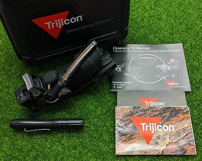 Trijicon ACOG TA31RM04 4x32, Dual Illumination Red Crosshair, .223 Ret - 100184