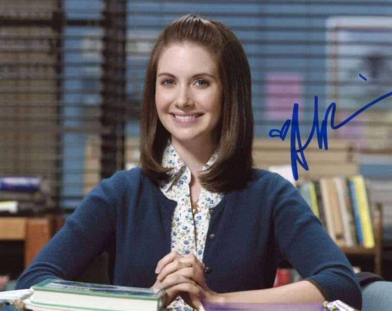 "Alison Brie ""Community"" AUTOGRAPH Signed 8x10 Photo C ACOA"