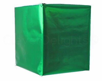 "Metallic Green Wrapping Paper - 30"" x 300"" JUMBO Roll - 62.5 Sq Ft - Shiny Wrap"