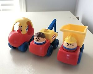 Vintage Little Tikes People & Vehicles