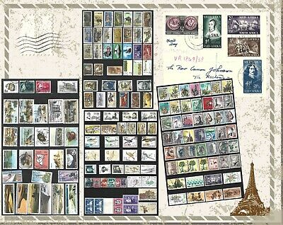 SOUTH WEST AFRICA SELECTION OF COMPLETE AND PART SETS USED STAMPS 1x FDC 0703