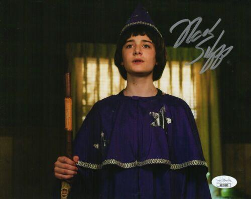 "Noah Schnapp Autograph Signed 8x10 Photo - Stranger Things ""Will"" (JSA COA)"