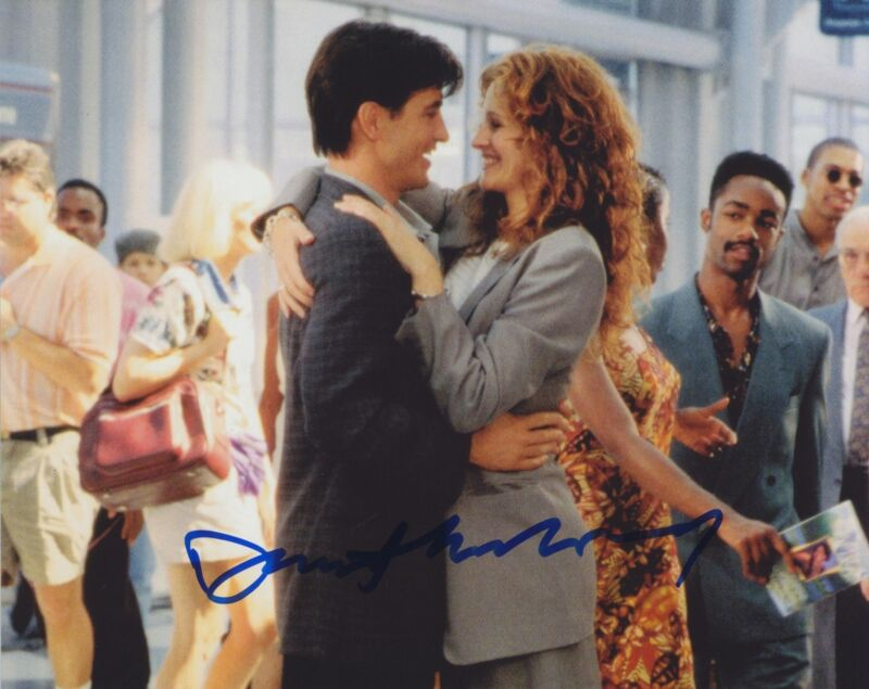 DERMOT MULRONEY SIGNED MY BEST FRIEND'S WEDDING 8X10 PHOTO