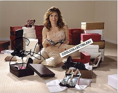 Sasha Alexander In Person Signed 8X10 Color Photo 2  Proof