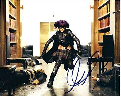 Chloe Grace Moretz As Hit Girl Signed  8X10 Photo  Kick Ass  Jsa Coa  M31708