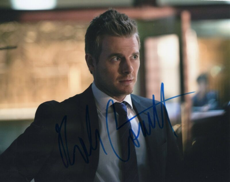 Rick Cosnett The Vampire Diaries Signed 8x10 Photo w/COA #3