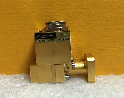 Millitech Hughes 47771h-2100b Wr-28 26.5 To 40 Ghz Waveguide Power Sensor