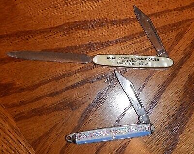 Vintage Advertisement Letter Opener/Knives from the 1960's
