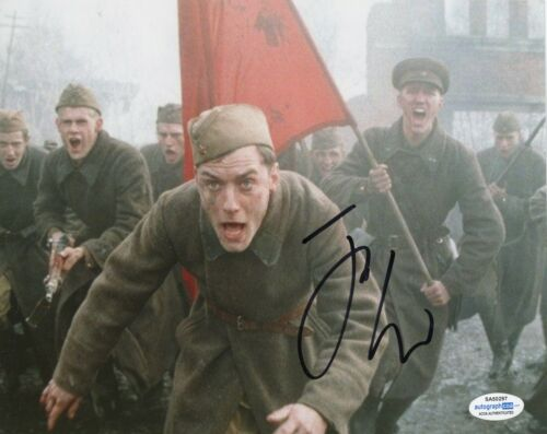 Jude Law Enemy at the Gates Autographed Signed 8x10 Photo ACOA