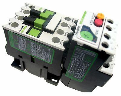 Motor Starter 3 Hp 480v 4-6 Amp Overload 120 Volt Coil 3 Hp New
