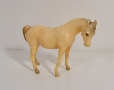 "Vintage 1975 White Arabian Mare Female Horse 3.25"" Breyer PVC Action Figure"