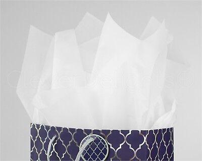 500 Pack - Premium White Tissue Paper - 20