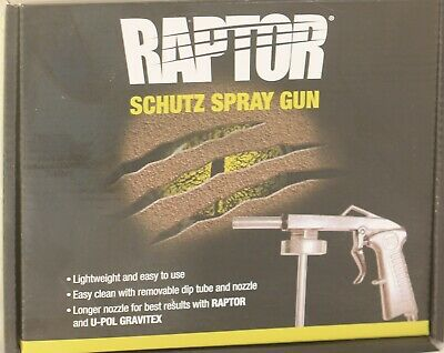 Raptor Schutz Spray Gun For Use With Protective Coatings Easy To Use Lightweight