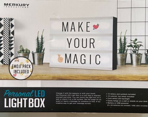 Merkury Innovations Personal LED Light Box