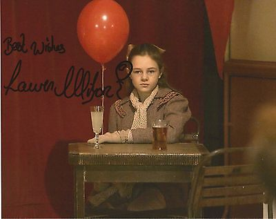 Lauren Wilson Dr Who signed photo UACC RD 86