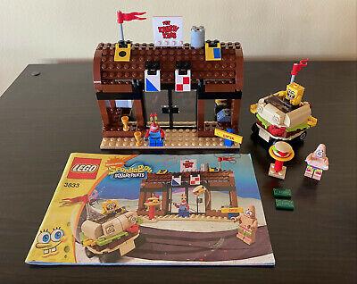 Lego SpongeBob Squarepants KRUSTY KRAB ADVENTURES 100% Complete w/Instructions