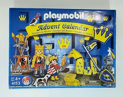 Playmobil Advent Calendar KNIGHT'S DUEL CHEVALIER Christmas Set 4153 90 Pieces