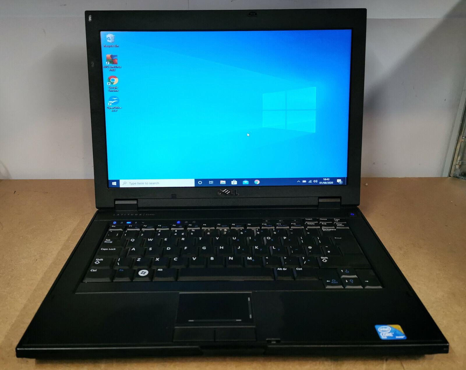 """Laptop Windows - DELL LATITUDE E5400 14.1"""" LAPTOP WINDOWS 10 3GB 250GB CORE2 DUO #9"""