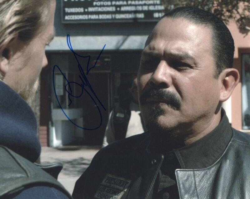 Emilio Rivera Sons of Anarchy TV Show Marcus Alvarez Signed 8x10 Photo w/COA #5