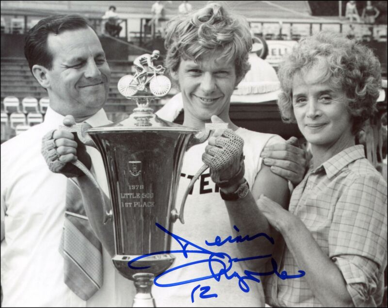 "Dennis Christopher ""Breaking Away"" AUTOGRAPH Signed 8x10 Photo"