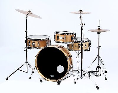 Skinny Compact Drum Set - Burnt Orange ()