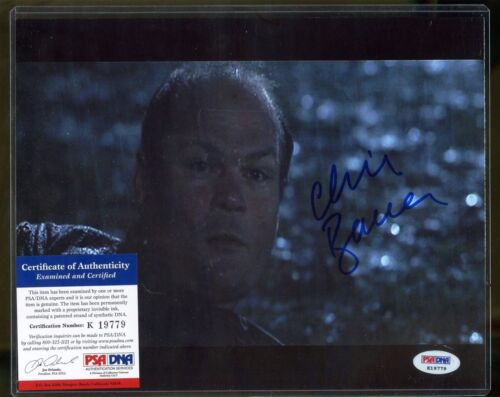 Chris Bauer Signed 8x10 Photograph PSA/DNA COA AUTO Autograph