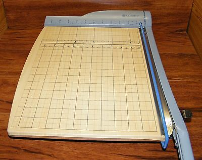 Quartet (9115) Wooden Paper Cutter Alignment Grid Trim & Cut Craft Projects -
