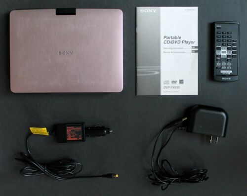 SONY DVP-FX930 DVD Player Tested Working NO BATTERY