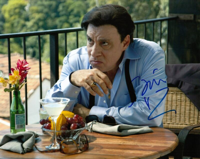 STEVEN VAN ZANDT signed (THE SOPRANOS) *SILVIO DANTE* 8X10 photo W/COA #3