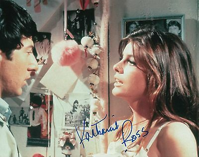 Katharine Ross Signed  The Graduate  Movie 8X10  Proof  W Coa Elaine Robinson  1