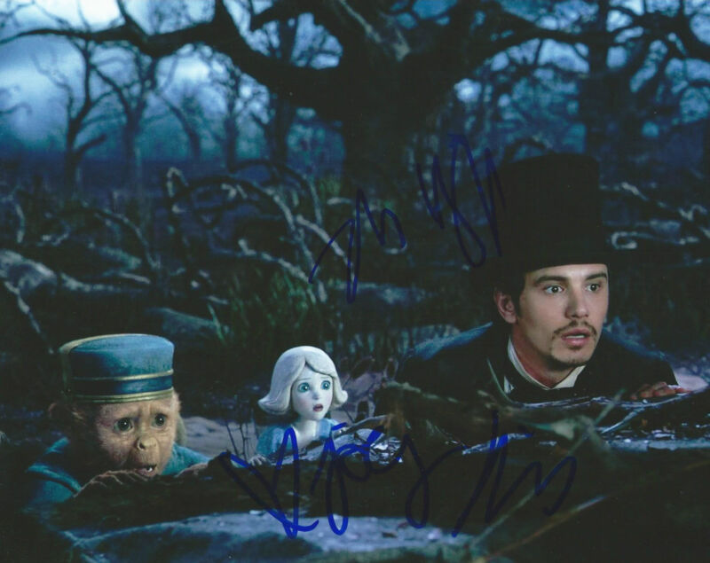 **OZ the Great and Powerful *JOEY KING & ZACH BRAFF* Signed 8x10 Photo MH3 COA**