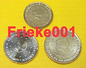 Nederland-Pays-Bas-10-20-en-50-cent-2009-unc