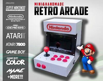 Mini Arcade Machine - Play NES, SNES, MAME, SEGA, Atari, Nintendo + More