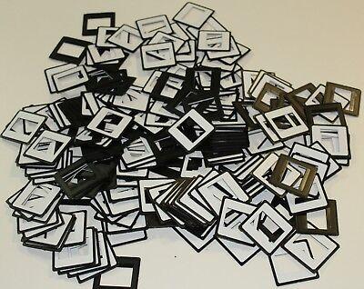 100 Stück CS-Rahmen schwarz 24x36 5x5 KB-Rahmen Kleinbild Diarahmen
