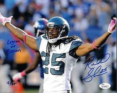 Cheap Autographs Original Richard Sherman Trainers4Me